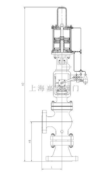 黑水气动调节阀-上海嘉泰阀门制造阀门有限公司